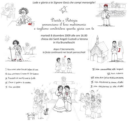 Partecipazione matrimonio